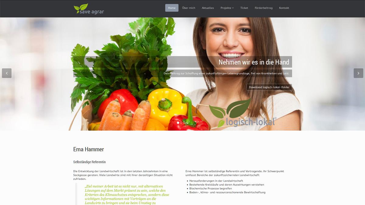 Save Agrar - Erna Hammer